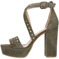 Chaussures Femme Sandales et Nu-pieds Bruno Premi K2602p Sandale Femme Vert Vert