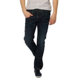 Vêtements Homme Jeans droit Replay Jeans HOMME - ANBASS M914.67B.828.007_12 OZ GREY CAST POWER STR Bleu