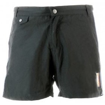 Vêtements Homme Shorts / Bermudas Mister Marcel Pantalon BELILE PIPING NOIR