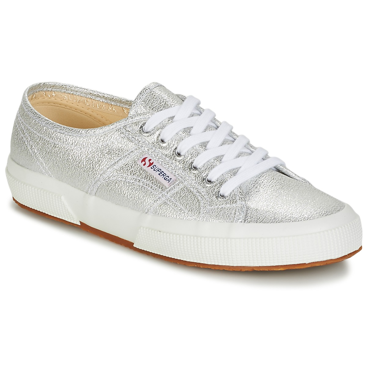 f6b57e67dc1 Superga 2750-LAMEW Silver - Chaussures Baskets basses Femme GH8HUA1Z -  destrainspourtous.fr