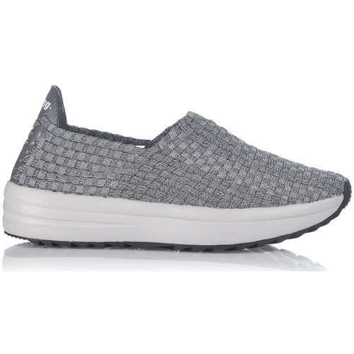 Chaussures Slip ons MTNG 69217 Gris