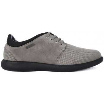 Chaussures Homme Baskets basses Frau SUEDE ROCCIA Grigio