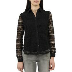 Vêtements Femme Chemises / Chemisiers Ryujee chemisier  hisa noir noir