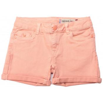 Vêtements Fille Shorts / Bermudas Kaporal Short Fille Pina Peach Orange