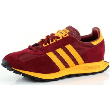 Chaussures Femme Baskets basses adidas Originals RACING 1 Rouge