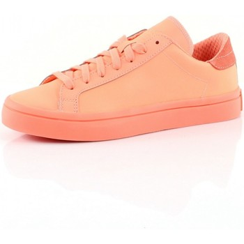 Chaussures Femme Baskets basses adidas Originals COURT VANTAGE Corail