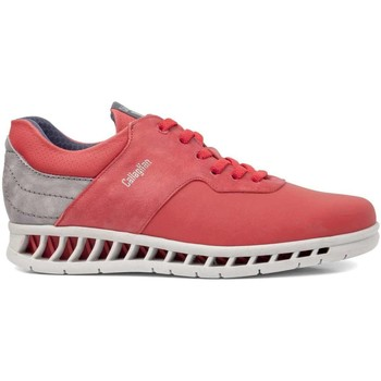 Chaussures Homme Randonnée CallagHan 10401 Sneakers Man Rouge Rouge