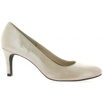 Chaussures Femme Escarpins Pao Escarpins cuir laminé Poudré