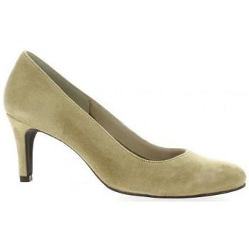 Chaussures Femme Escarpins Pao Escarpins cuir velours  sable Sable