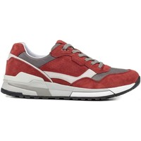 Chaussures Homme Baskets basses Geox U722HC 02214 Sneakers Man Rouge Rouge