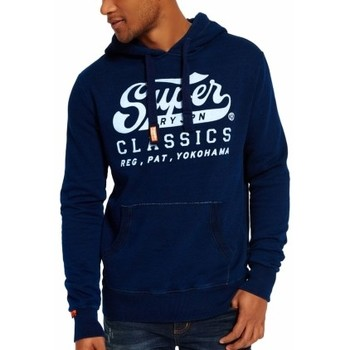 Vêtements Homme Sweats Superdry Sweat  Classics Real Indigo Hood fs Bleu