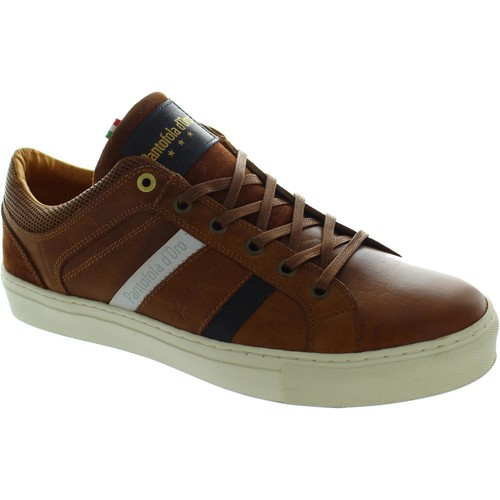 Chaussures Homme Baskets basses Pantofola d'Oro Monza Uomo Low marron