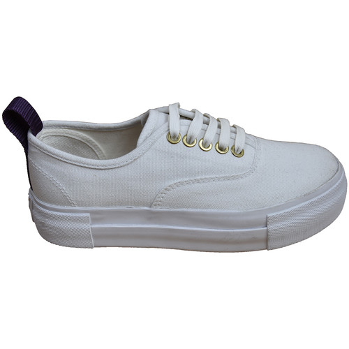 Chaussures Chaussures de Skate Eytys Mother Canvas White White