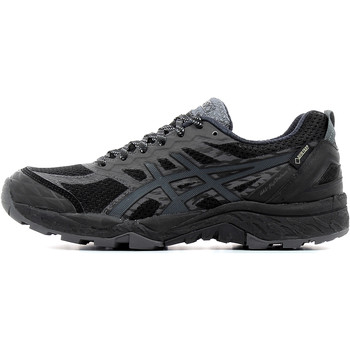 Chaussures Homme Running / trail Asics Gel Fujitrabuco 5 Gore Tex Black / Dark Steel / Silver