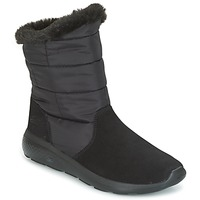 Chaussures Femme Boots Skechers ON THE GO CITY 2 PUFF Black