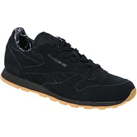 Chaussures Enfant Baskets mode Reebok Sport Classic Leather TDC  BD5049 Black