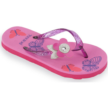 Chaussures Fille Tongs Isotoner Tongs fille semelle imprimée rose