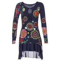 Vêtements Femme Robes courtes Desigual GRUFI Bleu