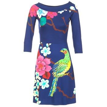 Vêtements Femme Robes courtes Desigual MARTA Bleu