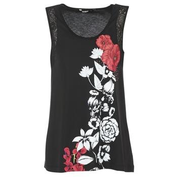 Vêtements Femme Débardeurs / T-shirts sans manche Desigual MAGEIS Noir