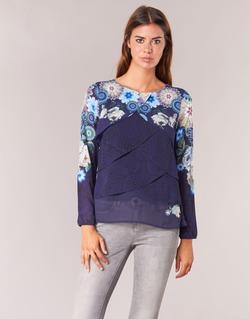 Vêtements Femme Tops / Blouses Desigual TAMA Bleu