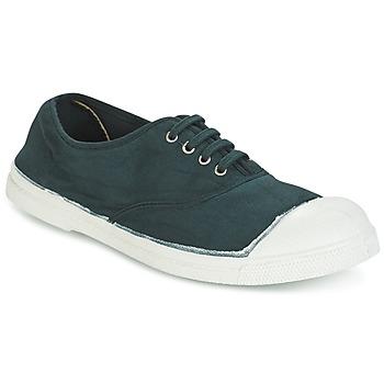 Chaussures Femme Baskets basses Bensimon TENNIS LACET Vert foncé