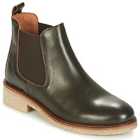 Chaussures Femme Boots Bensimon BOOTS CREPE Marron
