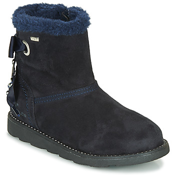 Chaussures Fille Boots Tom Tailor JAVILOME Marine