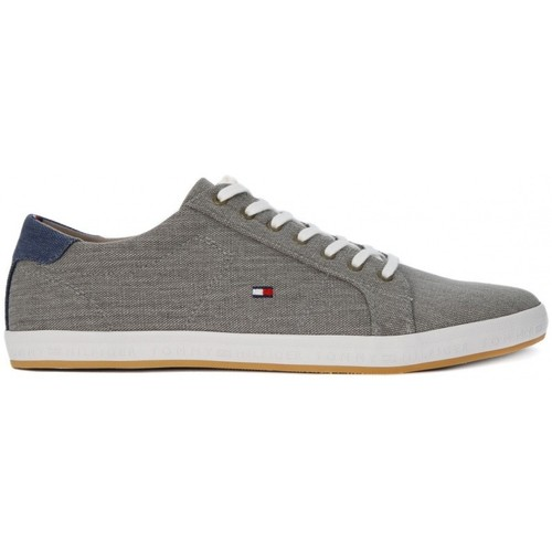 Tommy Hilfiger MATER GREY Grigio - Chaussures Baskets basses Homme