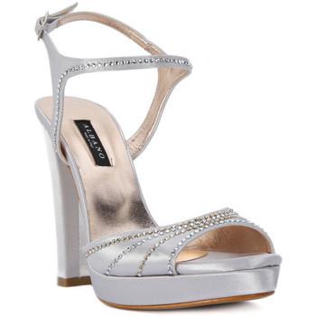 Chaussures Femme Sandales et Nu-pieds Albano RASO ARGENTO Grigio