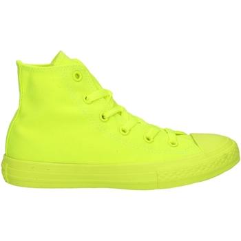 Chaussures Garçon Baskets basses Converse 656853C Jaune fluo