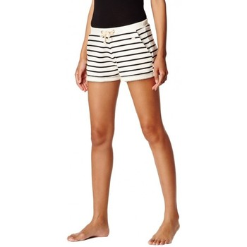 Vêtements Femme Shorts / Bermudas O'neill Short  Lw Jacks Base Sweat - White Aop blanc