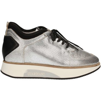 Chaussures Femme Baskets basses Alberto Guardiani SD58545E Chaussures lacets Femmes Gris