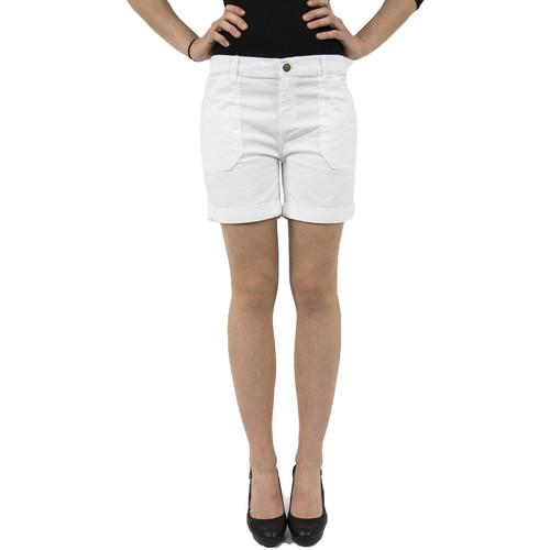 Vêtements Femme Shorts / Bermudas Yaya 031508-714 blanc