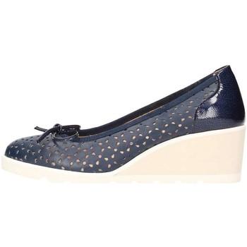 Chaussures Femme Ballerines / babies Ox Z100 Ballerine Femme bleu bleu