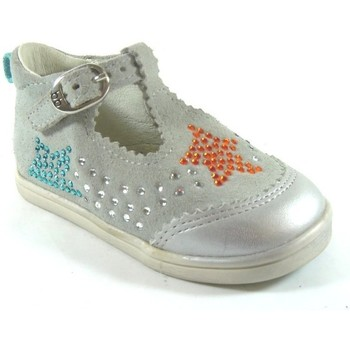 Chaussures Enfant Baskets basses Babybotte Pinky Gris