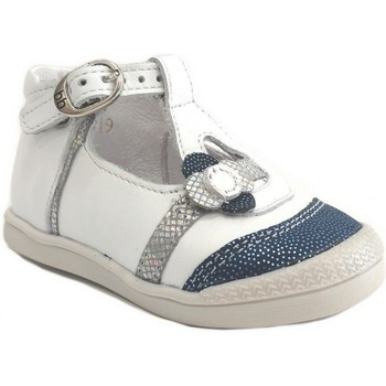 Chaussures Enfant Baskets basses Babybotte Pearly Blanc