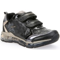 Chaussures Fille Multisport Geox Android Noir