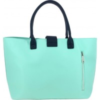 Sacs Femme Cabas / Sacs shopping Paul & Joe Sister Sac Cabas Heliane - City Fermoir Chat Vert