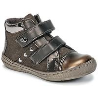 Chaussures Fille Boots Citrouille et Compagnie HOUPADI Marron