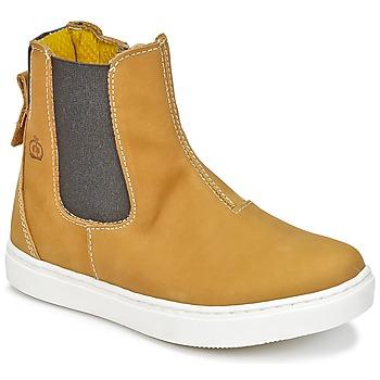 Chaussures Garçon Boots Citrouille et Compagnie HACHOU Marron