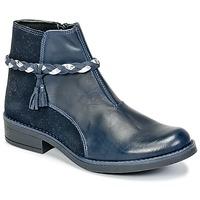 Chaussures Fille Boots Citrouille et Compagnie HOCEA Bleu