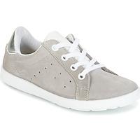 Chaussures Fille Baskets basses Citrouille et Compagnie HINETTE Gris / Argenté