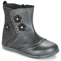 Chaussures Fille Boots Citrouille et Compagnie HOPETTE Gris