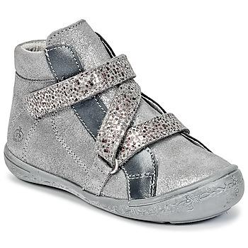 Chaussures Fille Boots Citrouille et Compagnie HISSOU Gris