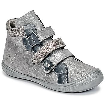 Chaussures Fille Baskets montantes Citrouille et Compagnie HODIL Gris