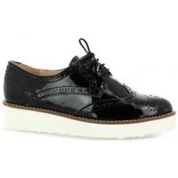 Chaussures Femme Derbies Pao Derby vernis Noir