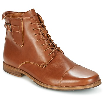 Chaussures Homme Boots Schmoove BLIND BRITISH BROGUE Camel