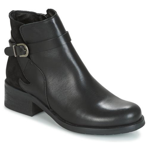 Chaussures Femme Boots Betty London HARRIS Noir