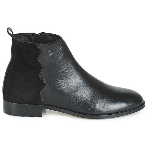 London Boots Betty Heloi Femme Noir Ifyb76gvYm
